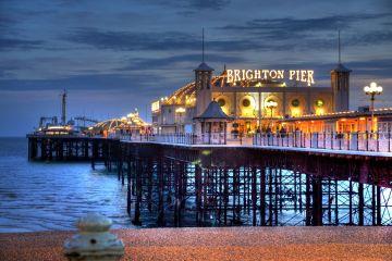 Brighton - kolorowe angielskie miasto