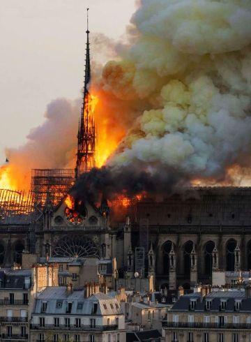 Notre Dame pożar
