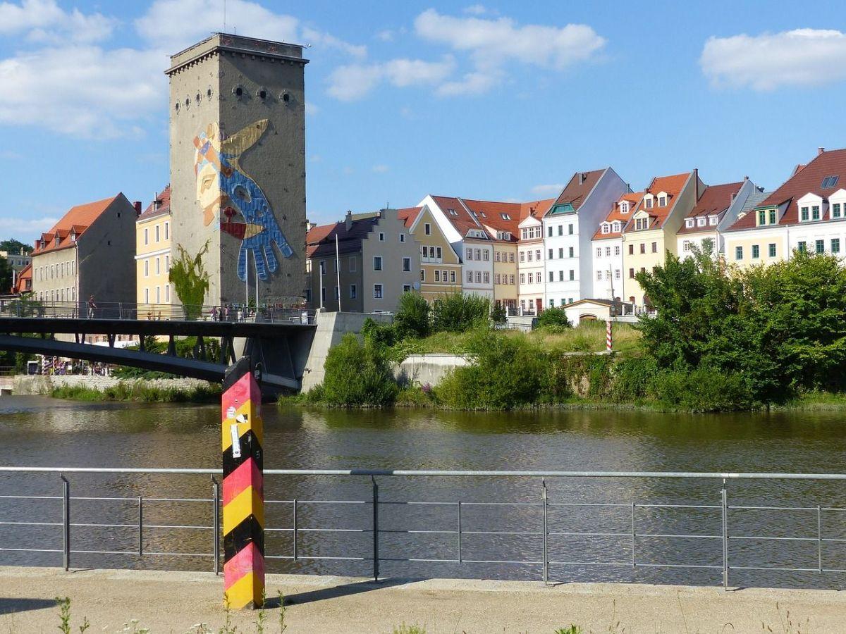 Goerlitz - rzeka Nysa Łużycka