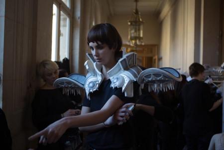 Backstage ON AURA TOUT VU couture photos by emmanuel sarnin (23)