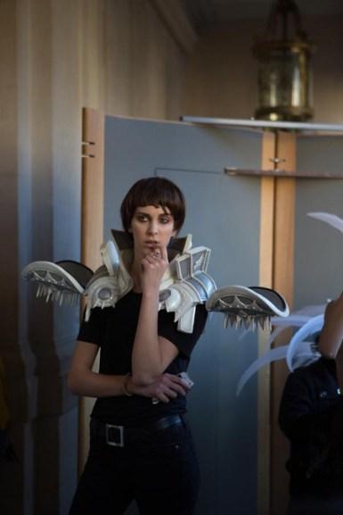 Backstage ON AURA TOUT VU couture photos by emmanuel sarnin (26)