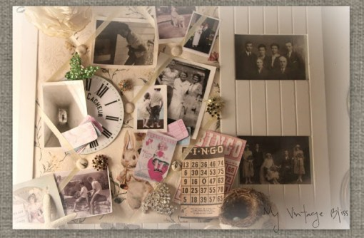 dream board vignette. Picture Credit: myvintagebliss.blogspot.com