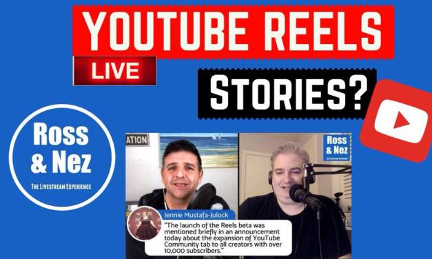 YouTube Reels: YouTube launches it's version of stories (Ross & Nez 005)