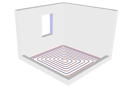 Монтаж теплый водяной пол