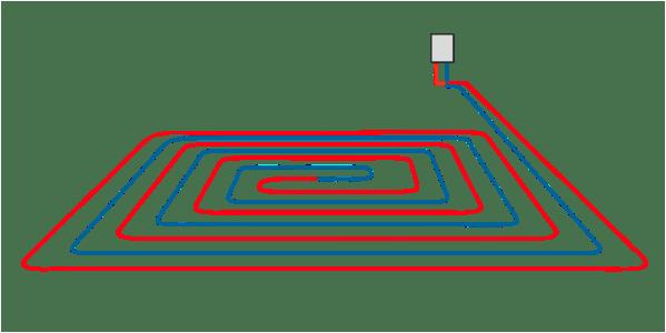 Монтаж отопления в коттедже