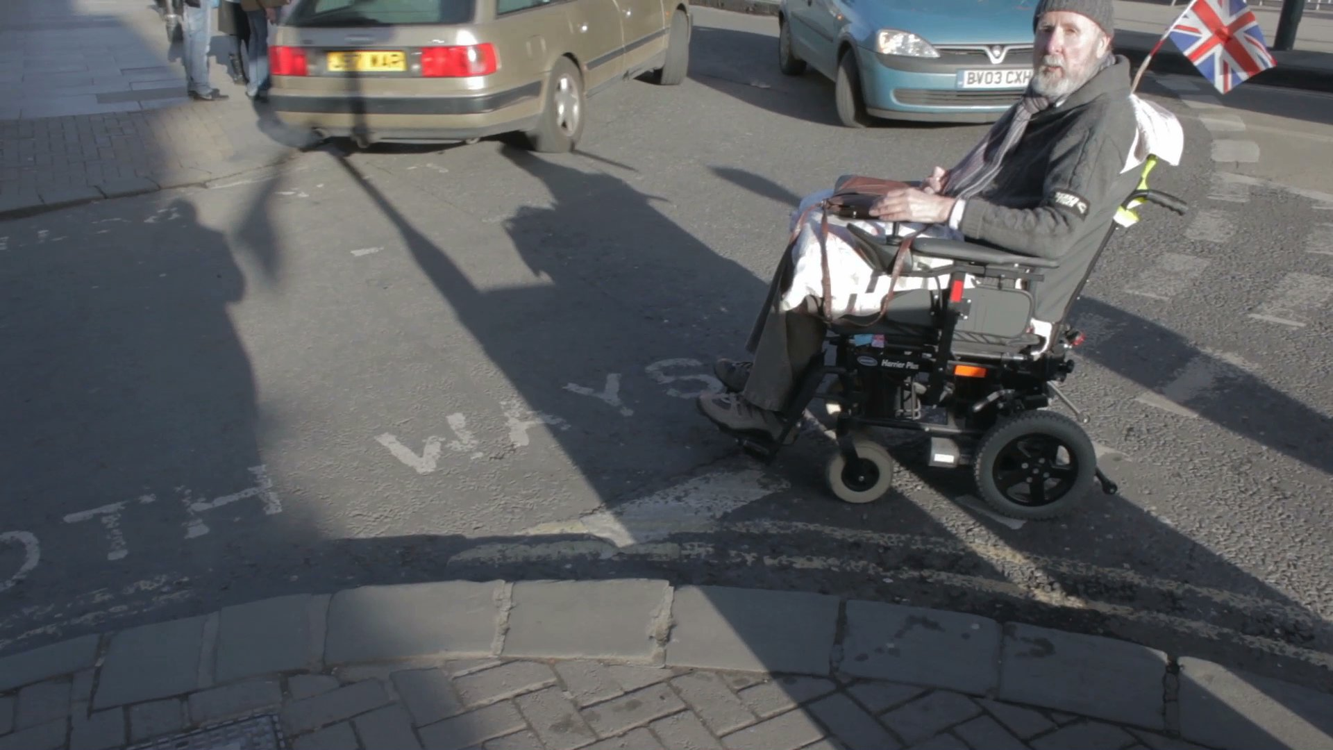wheelchair height where to buy chair covers nz footway width quality and on grove st mean users need use the road