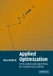 Applied Optimization | RossBaldick.com