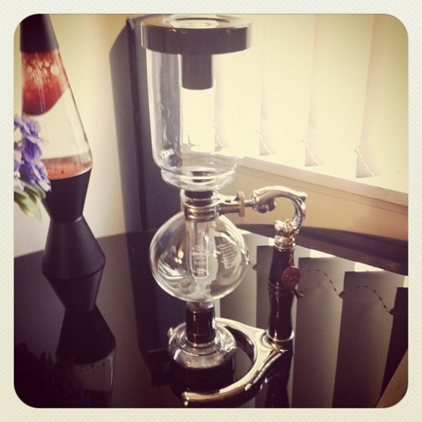 My new Vacuum Coffee Maker