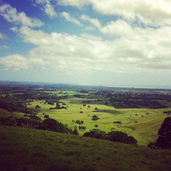 Boxing Day over Byron