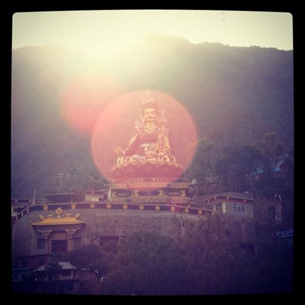 Guru Rinpoche (Padmasambhava) at Tso Pema