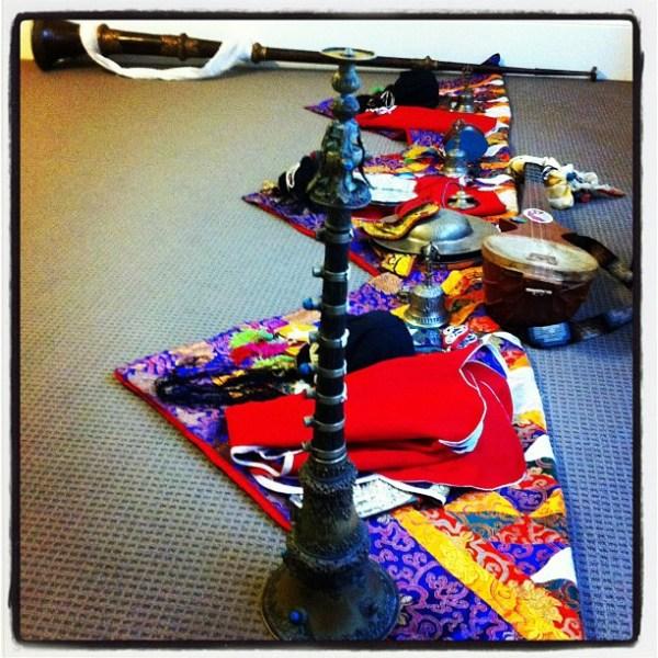 Tibetan musical instruments, etc...