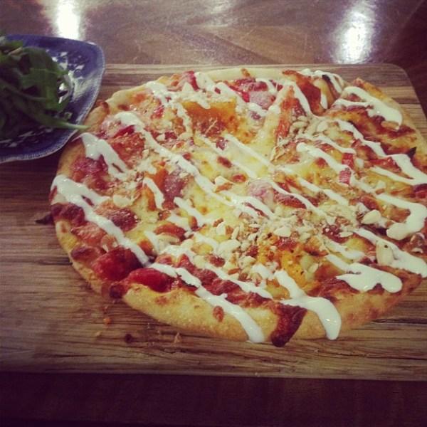 Roast Vegetable Pizza