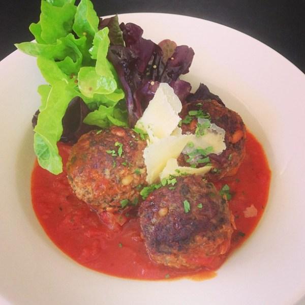 Italian Pork & Fennel Meatballs