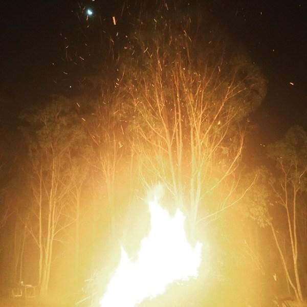 Warren's Winter Solstice Bonfire