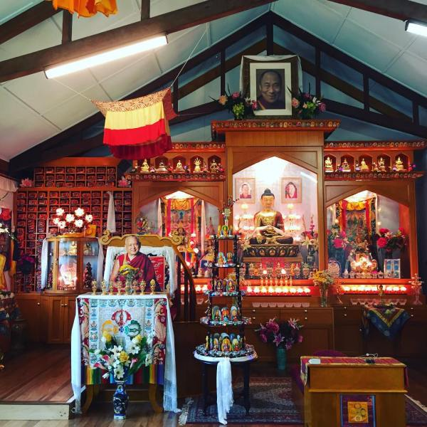 Air conditioned gompa