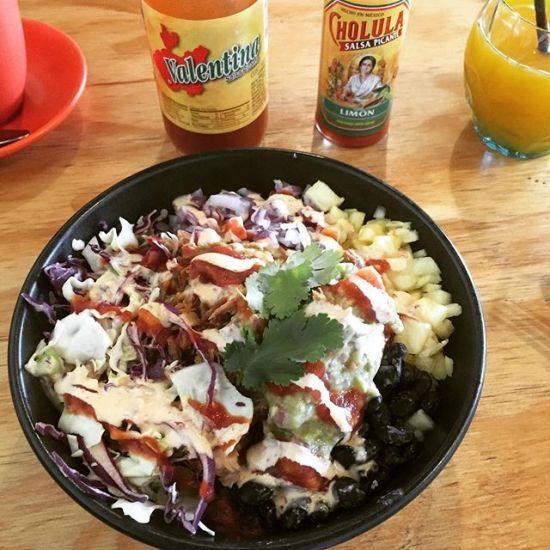 Pork Bowl w/ Guacamole