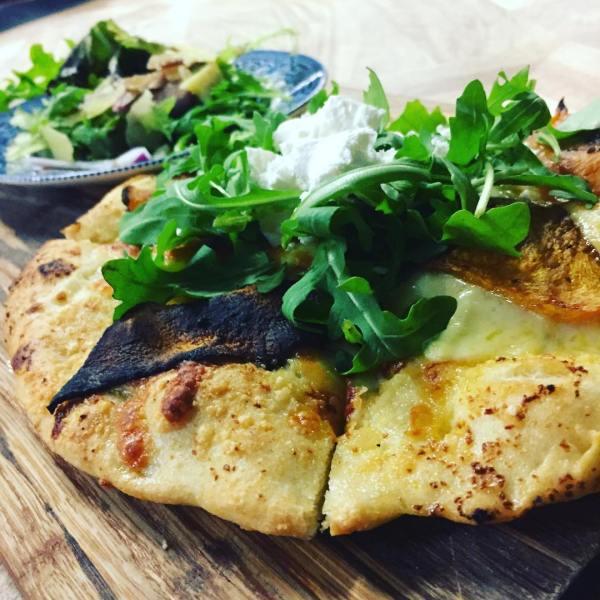 Roast Pumpkin & Feta pizza