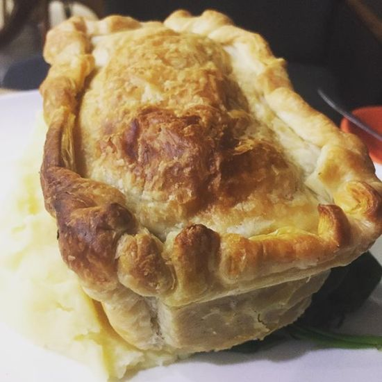Lamb Curry Pie with Creamy Mash
