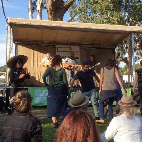 Victory Song by The Eastern at Bangalow BBQ & Bluegrass Festival