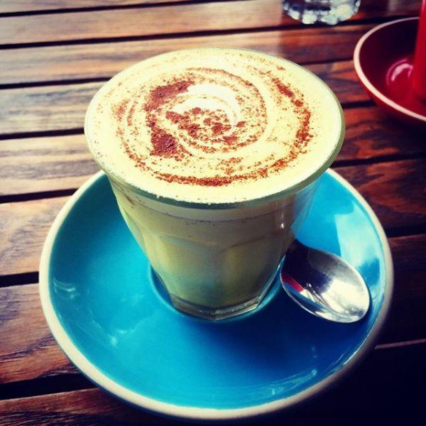 Turmeric Latte on coconut milk