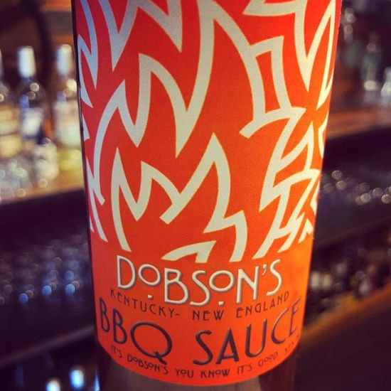 Dobson's BBQ Sauce - first bottle sold