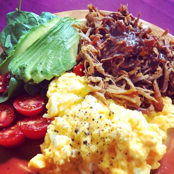 Low-carb big breakfast
