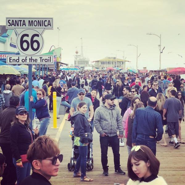 Santa Monica, Easter Sunday