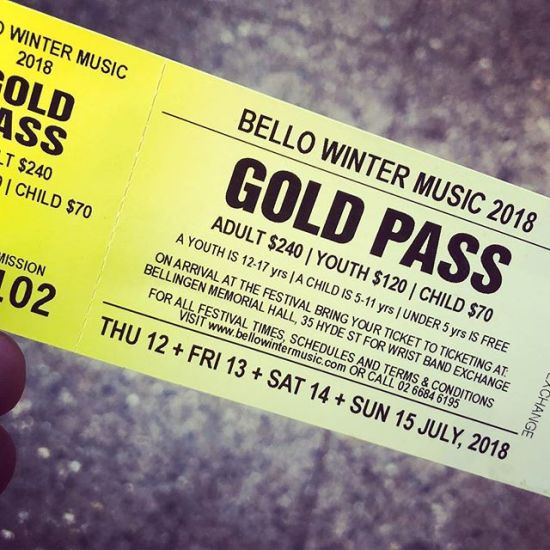 No such thing as a sold-out festival when you have the right network... full festival, gold pass, below cost