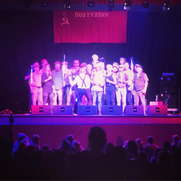 Full hall for Dustyesky