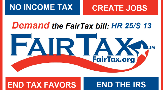 The FairTax Will Fix What Ails Us