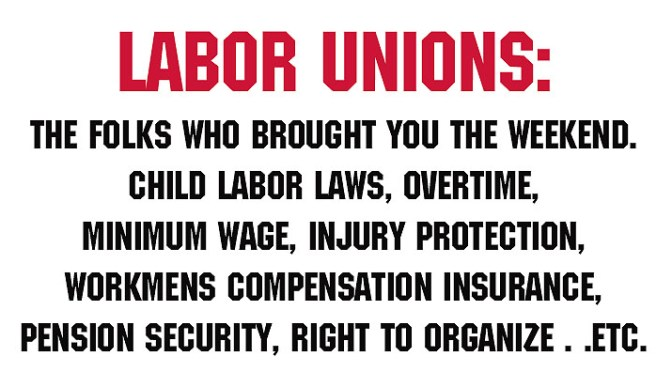 Who Needs Labor Unions?
