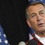 Boehner Signals Surrender