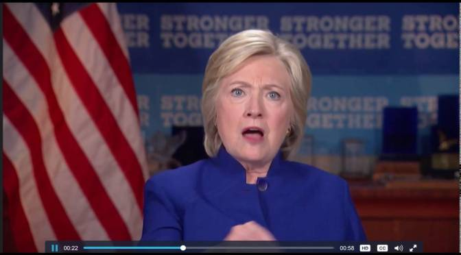 Two Faces Of Hillary Clinton