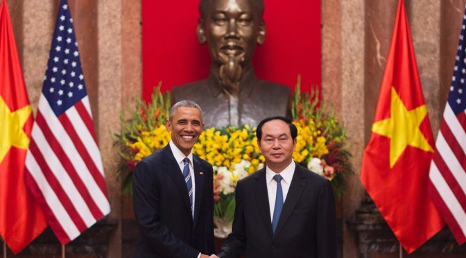 Vietnam, U.S. Lifts Weapons Embargo