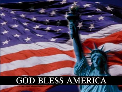 patriotismGodBlessAmerica