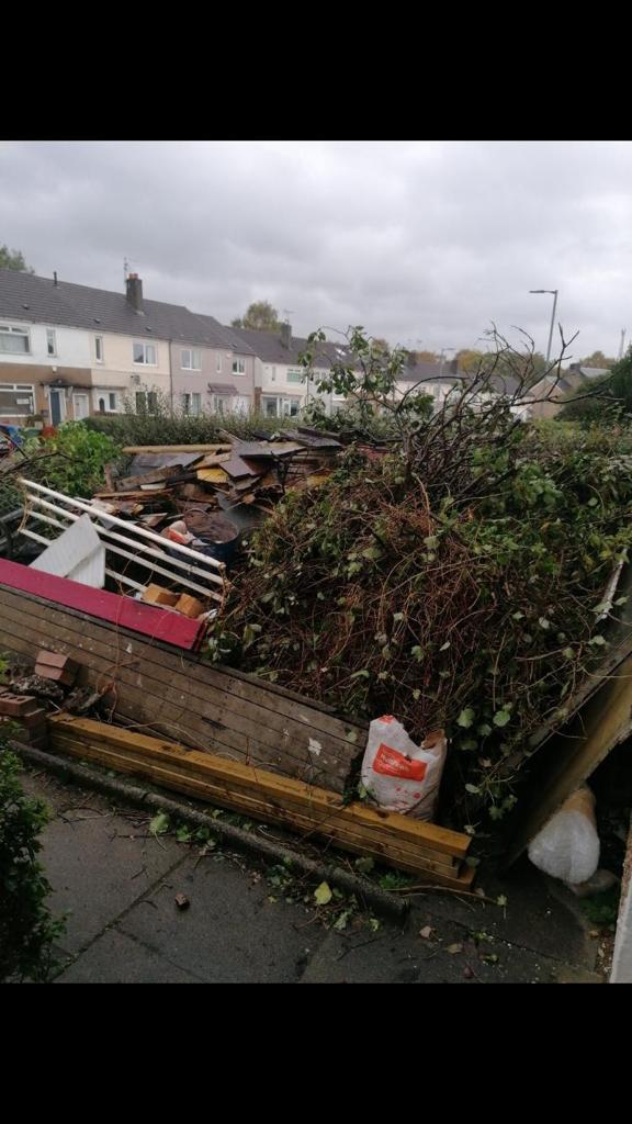 garden waste and rubbish removal Glasgow