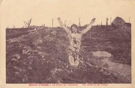 carte postale d'après guerre