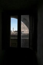 a window in the castello Risolo (Specchia)_#1