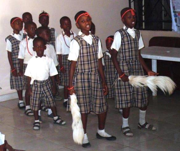 Primary School children put on a show