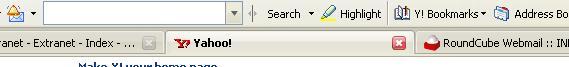 Yahoo Toolbar Logged In
