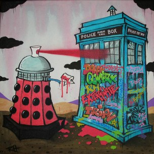 dalek graffiti