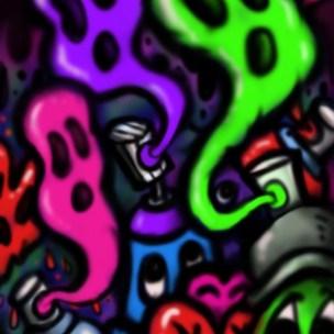 street art graffiti doodle pop
