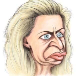 katie hopkins caricature