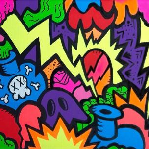 pop art britto style