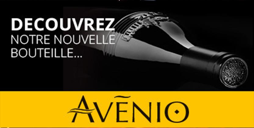 Découvrez notre bouteille Avénio
