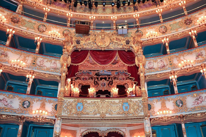 The Imperial Box- La Fenice Opera House in Venice, Italy - www.rossiwrites.com