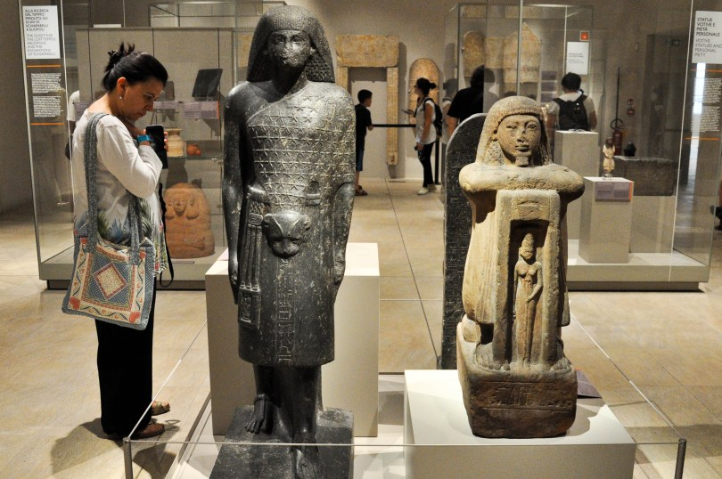 Inside the Egyptian Museum, Turin, Italy - www.rossiwrites.com