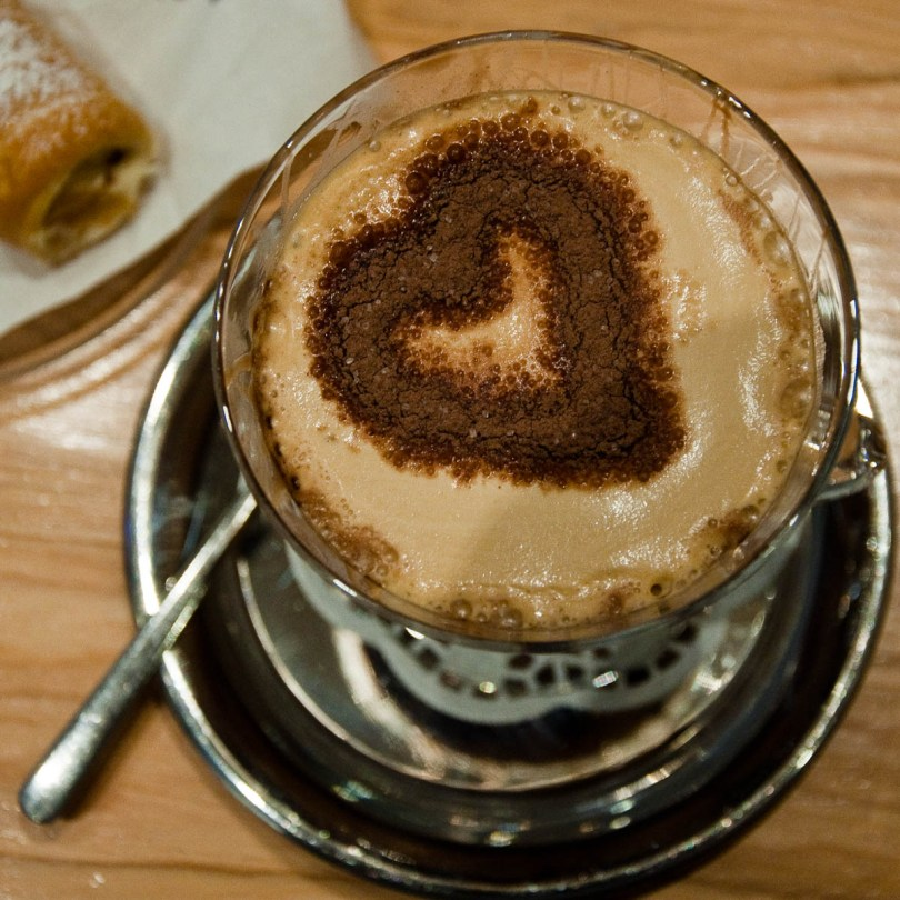 Cafe souffle, Caffe Olimpico, Vicenza, Italy - www.rossiwrites.com