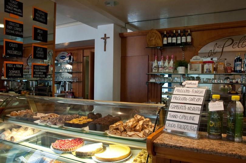 Inside Bar Al Pellegrino, Monte Berico, Vicenza, Italy - www.rossiwrites.com
