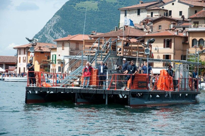 Christo's The Floating Piers, Seeing Christo, Lake Iseo, Italy - www.rossiwrites.com